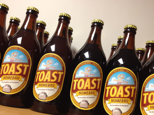TOAST Homebru gets rated by panel of top SAB tasters