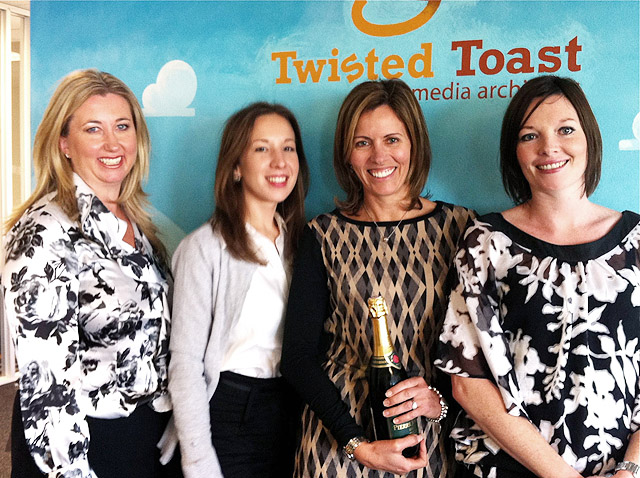 Chartered Wealth Solutions goes with Twisted Toast!