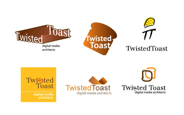 Twisted Toast brand identity