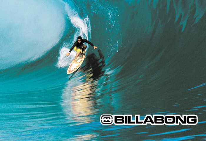 Save Billabong with content