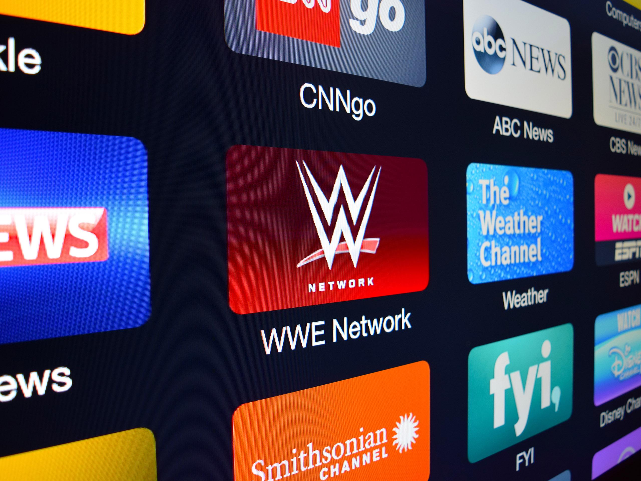 Top 10 TV apps