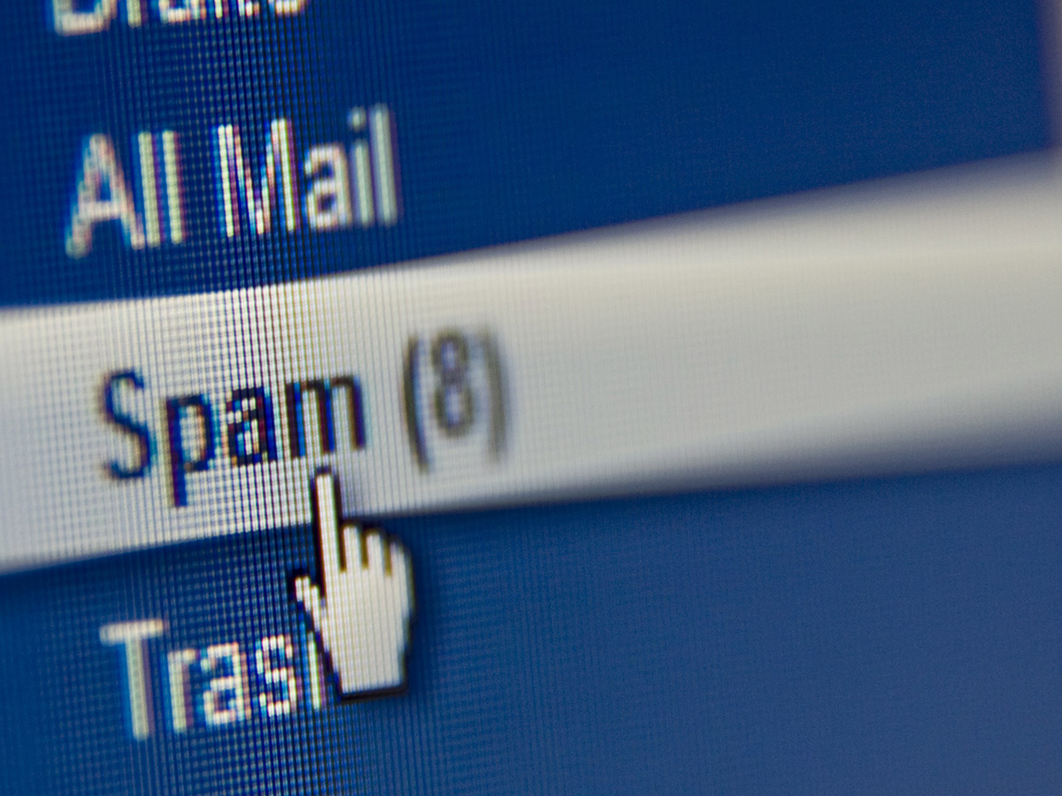 Check your email spam folder